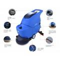西安小区物业保洁公司用容恩手推式全自动洗地机R50B
