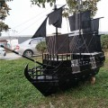 哪里有仿古战船卖雨晨木船厂出售各种仿古船