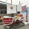 兴化木船厂供应仿古木船大型户外战船海盗船景观船