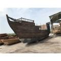 广东木船厂出售红头船 仿古木船复制
