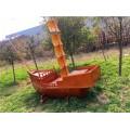山西木船厂出售各类仿古木船海盗船景观船
