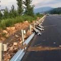 防撞波纹板护栏板 波形防护栏规格 汕尾护栏板安装