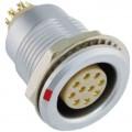 沿溪連接器10芯母座航空接插件線束信號采集器工業設備連接口