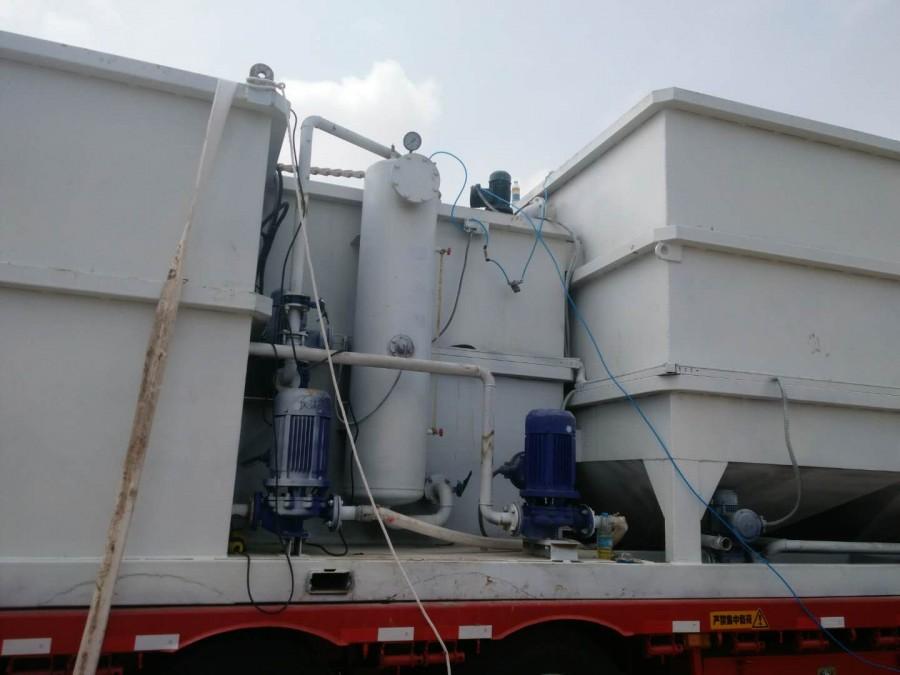 氣浮過濾一體化鉆井油田污水處理設備