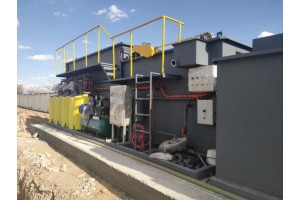 油田回注污水處理設備氣浮過濾一體機