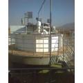 山東貝潔全自動加藥裝置氣浮澄清污水處理設備0