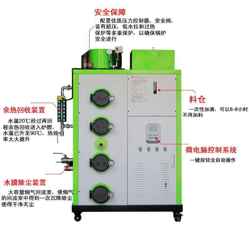 LHG生物質蒸汽發生器100kg