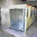 喷塑烤箱 热风循环烘箱 环保高效烘干设备 喷塑燃气设备0