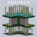 铅芯隔震橡胶支座厂家J4Q铅芯隔震支座构造