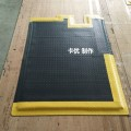 工業高緩沖腳墊,車間緩解腳疲勞墊,商用防滑地墊廠