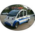 带门的两排五座电瓶巡逻车/执法巡逻车/四轮电动车(优质货源)