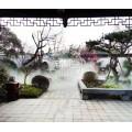 四川德陽生態餐廳噴霧造景圖片-休閑莊景觀噴霧設備價格現貨直發