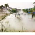 四川德陽生態餐廳噴霧造景圖片-休閑莊景觀噴霧設備價格現貨直發1