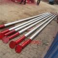 鋁合金管式三角抱桿三角立桿機10米12米15米