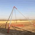 三角立桿機水泥桿立桿機鋁合金三角架立桿器水泥桿起桿器