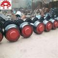 大量生產礦車輪對 350實心礦車輪對 加工定制