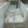 安裝羊圈刮糞機一拖二羊舍不銹鋼刮糞機廠家