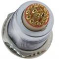 沿溪连接器19芯母座航空接插件线束信号采集器工业设备连接口