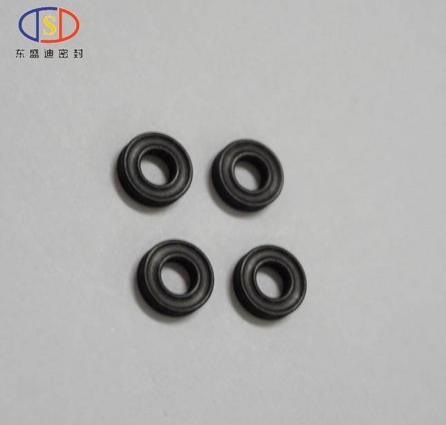 厂家加工供应 X型圈Φ4×2.05 黑色旋转耐磨耐油密封圈