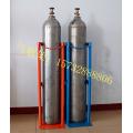 定制双气瓶防倒置固定架氮气氢气氩气二氧化氮钢瓶落地支架