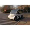 陕西西安电动巡逻车4轮座电动车 校园小区街道物业安保巡逻车