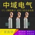 圓頭DTL-2銅鋁鼻子 鋁合金電纜線鼻子 光伏銅鋁過渡 歐標