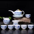 中秋礼品陶瓷茶具,节庆礼品功夫茶具