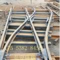 對稱道岔廠家供應,煤礦用道岔價格 DK930-4-15
