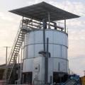 豬糞如何快速發酵成有機肥豬糞高溫發酵塔