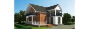 2020轻钢结构自建房-25万建农村别墅