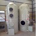 成都5000风量PP喷淋塔喷漆房除味设备出厂价格