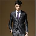 西装三件套修身西服上衣西装马夹西服裤专业定制定做上海厂家
