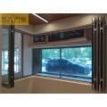 墨高门窗 现代美观阳台全景折叠窗 全敞开折叠窗定制