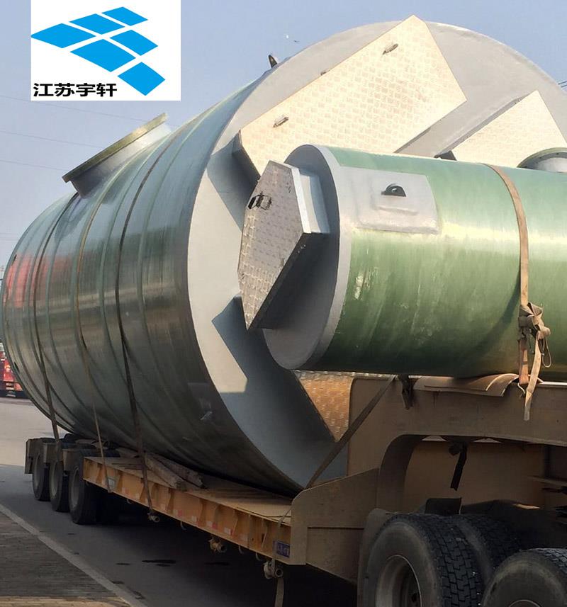 广西贺州一体化PE材质泵站厂家定做