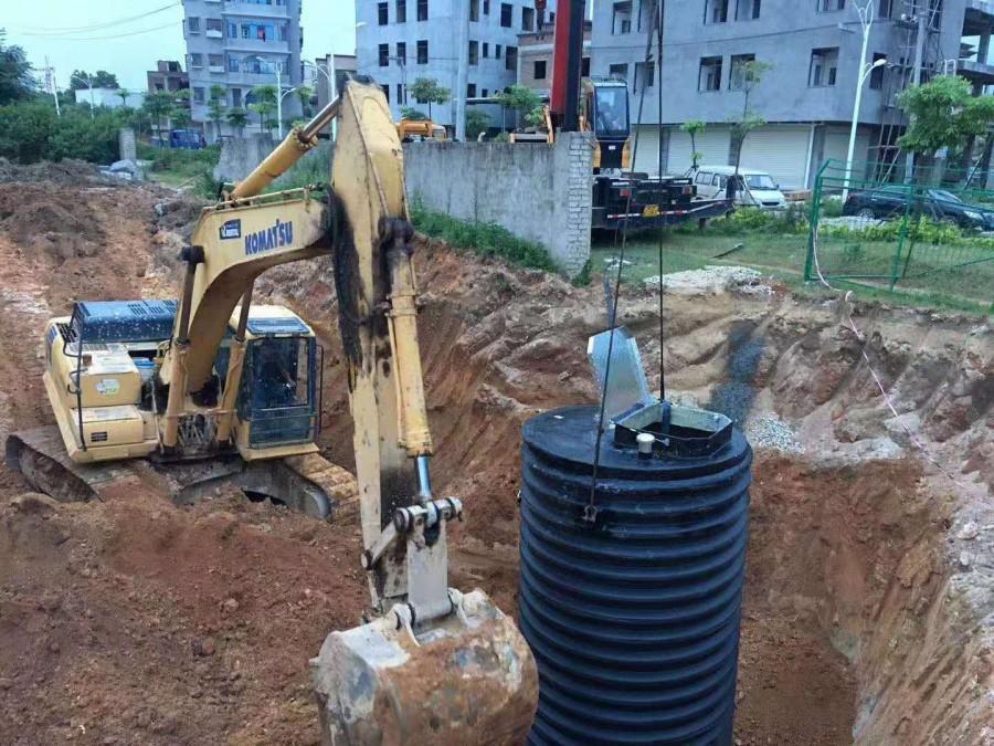 广西贺州一体化预制泵站PE材质