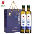 香達人一級冷榨亞麻籽油禮盒  廠家直供 福利采購