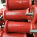 礦用地滾輪,鑄鋼地滾輪,鑄鐵地滾輪,鋼絲繩托輥