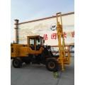 装载机式护栏打桩机 多功能装载机波形护栏打桩机