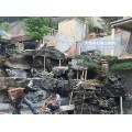 厂家批发英德大小英石 吨位黑灰色英石 英石假山石园林石