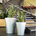 廠家直銷玻璃鋼花盆花缽簡約時尚酒店商場展廳花盆擺件庭院裝飾品