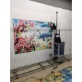 3d墙体立体彩绘机大型室内背景墙打印设备