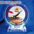 空军航空兵联谊会留念 赠送入伍10周年老兵 新兵入营纪念