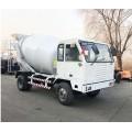 水泥混凝土搅拌罐车自动上料汽车头四轮运输车生产定制