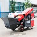 二次结构施工混凝土泵车扬程30米的泵车