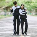 专业生产小学生校服 中学生校服 ?#20449;?#23398;生校服 可定制
