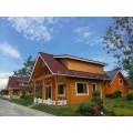 防腐木木屋別墅--蘭州正山--廠家定做 裝配式木屋健康環保