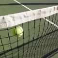 康辰比賽專用標準網球場中網