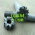 河南六工LG-1001铝液除气石墨转子,石墨转子厂家直销