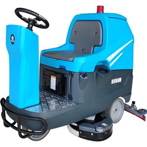 大型车间地面驾驶式洗地车DJ860M免费试机