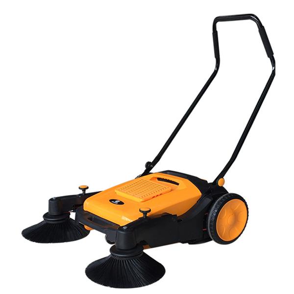 厂区过道清扫灰尘CD200手推无动力扫地机